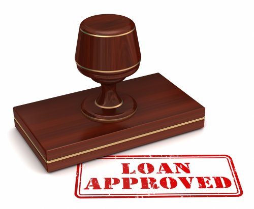 getting loan approved stamp